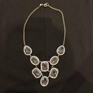 J.CREW Crystal Chandelier Bib Necklace